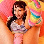 Sunshyne monroe. Sunshyne is a tiny girl with long excited legs and a pleasant smile